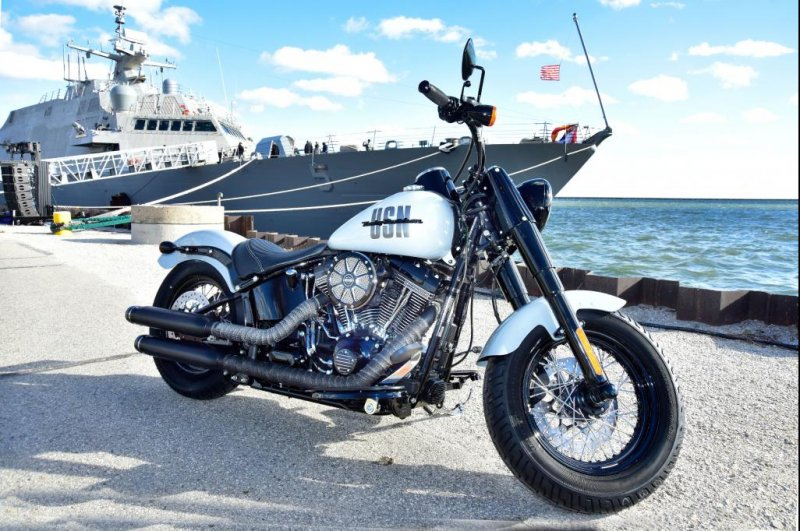 Harley-Davidson collaborated with defense contractor Lockheed Martin