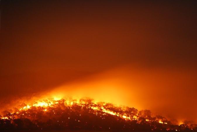 wilodfires in Australia
