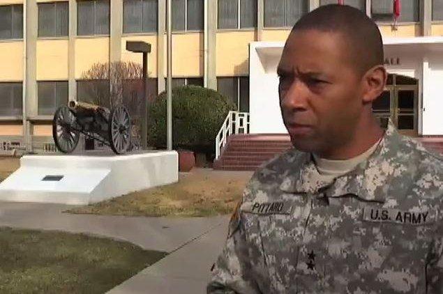 Maj. Gen. Dana Pittard