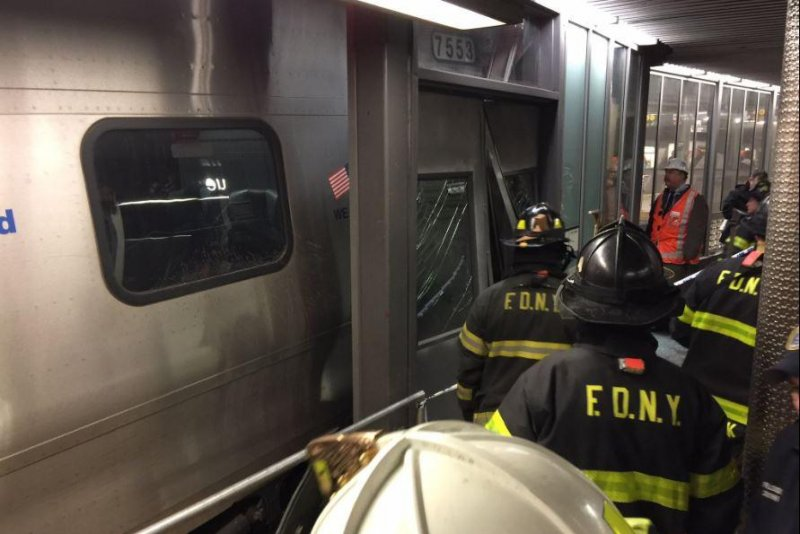 Train Derailment in Brooklyn; Dozens Injured