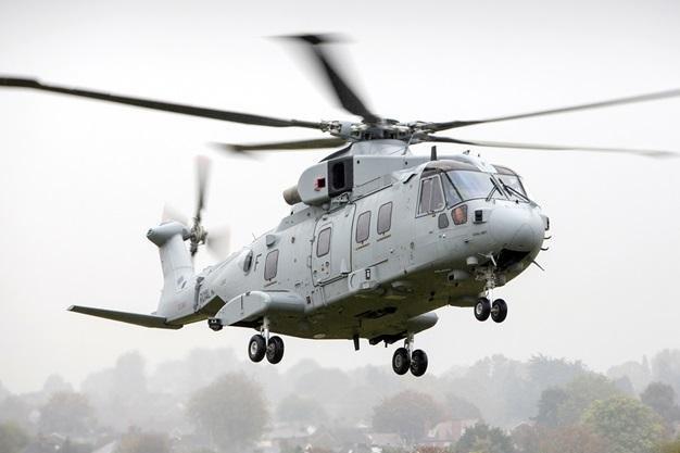 U.K. Merlin Mk4 helicopter makes maiden flight