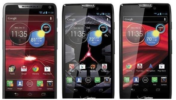 Motorola debuts three new Razr phones