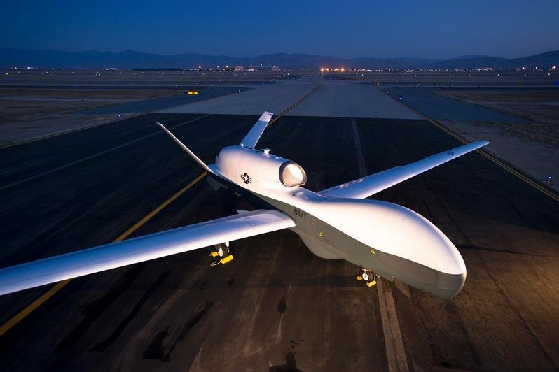 U.S. Navy's first drone squadron stands up