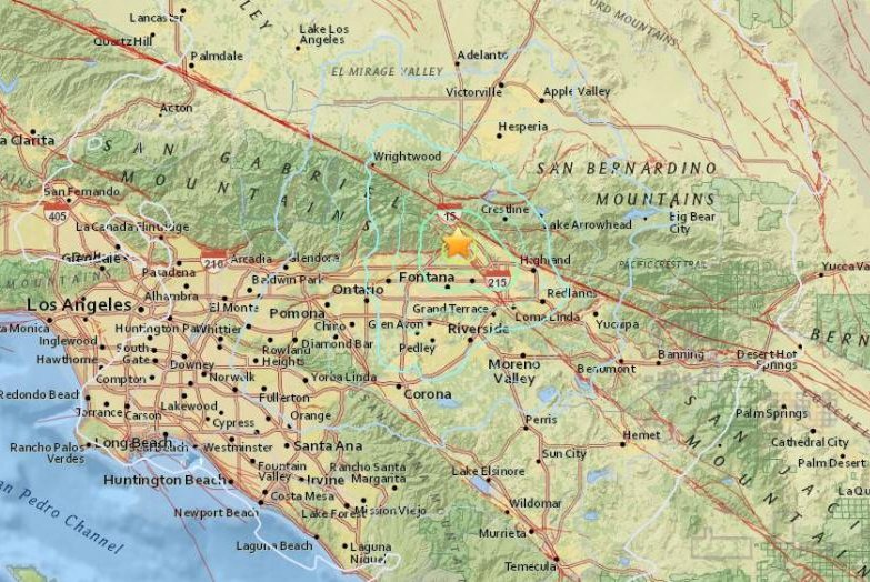 A pair of earthquakes rattle both Northern and Southern California