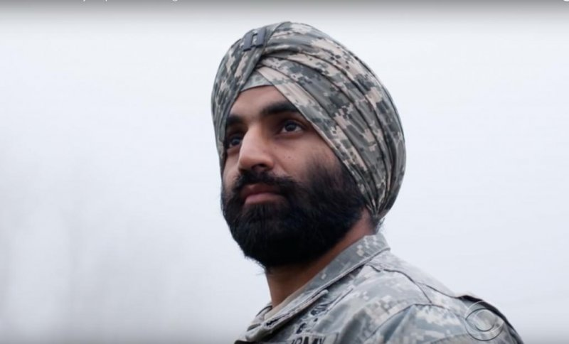 New army regulations for religious dress, beards