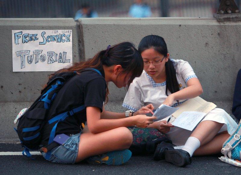Student protest Hong Kong