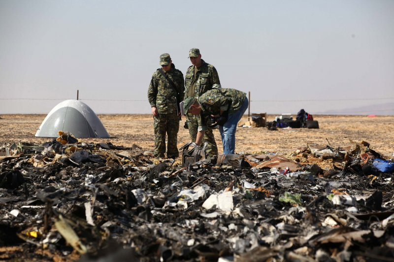 Bomb residue found on plane