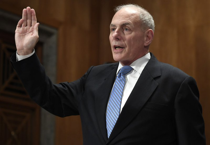 John Kelly confirmation hearing for homeland security secretary