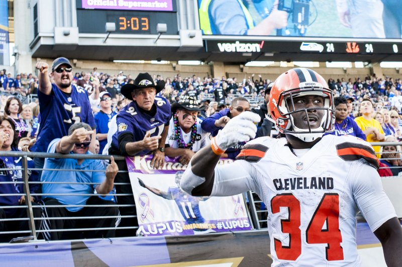 Browns RB Crowell apologizes for Instagram drawing