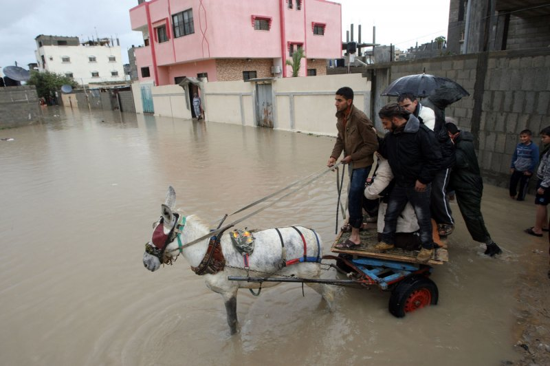 catastrophic floods in South America