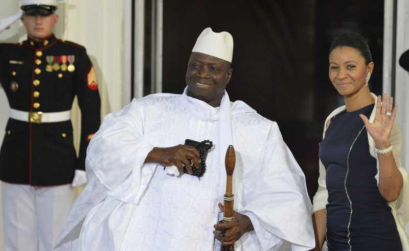 Jammeh Nigeria reportedly 'deploys warship' to The Gambia