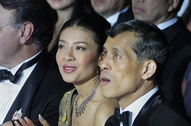 Thai Heir Prince Maha Vajiralongkorn and his then-wife <b>Princess Srirasmi</b> in <b>...</b> - Parents-of-former-princess-of-Thailand-jailed-for-defaming-king