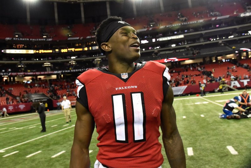 Falcons WR Jones (toe) out against 49ers