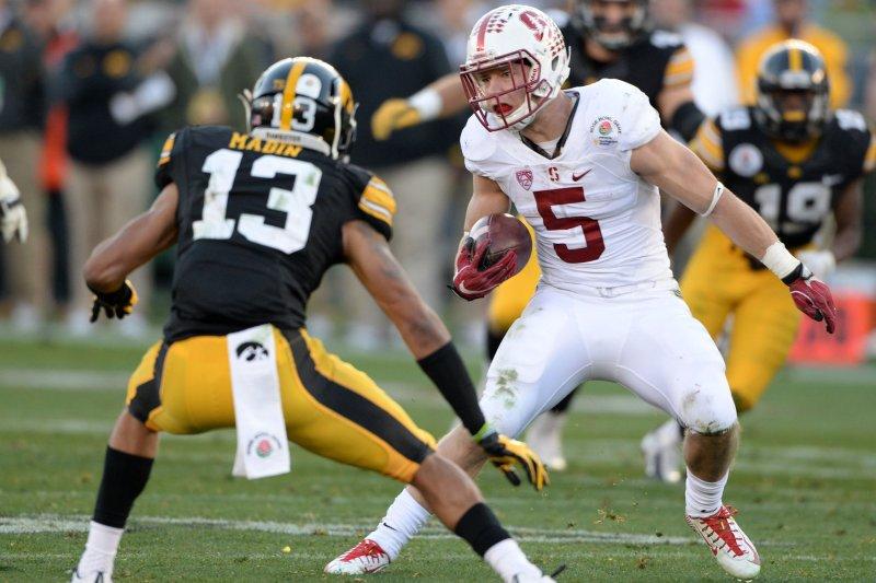 Stanford's McCaffrey to skip bowl, focus on draft