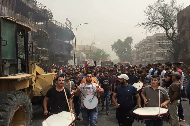 Suicide bombing in Baghdad