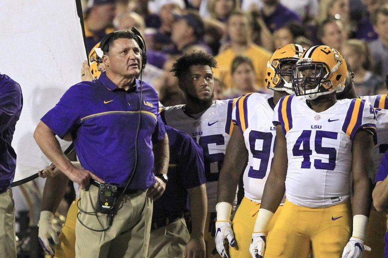 Florida aims for division crown at LSU