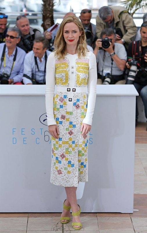 Emily Blunt Cannes High Heels Rule For Women Disappointing Jpg