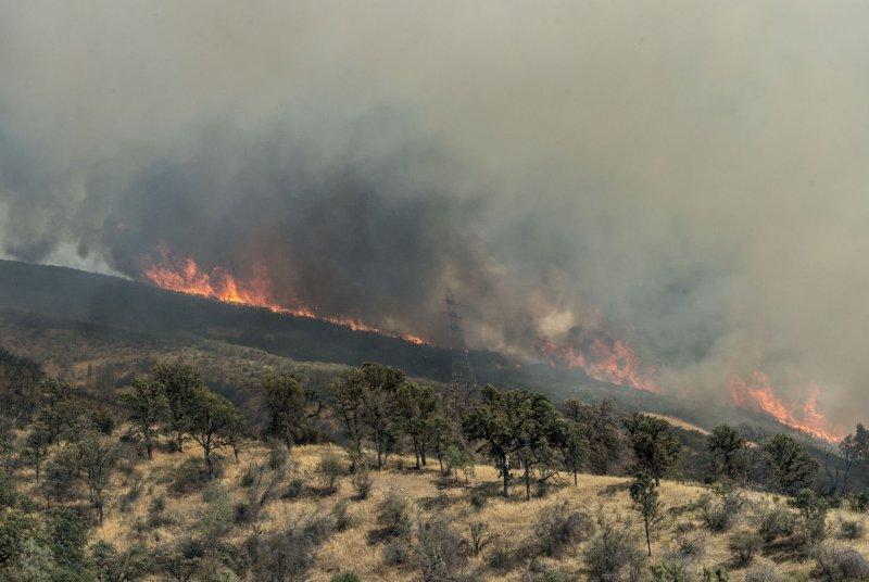 Califoria fires