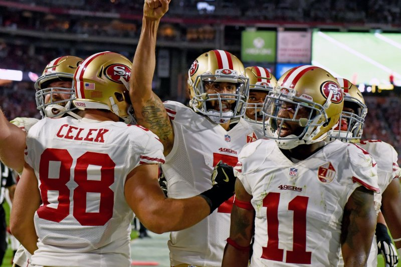 Kaepernick showing improvement for 49ers