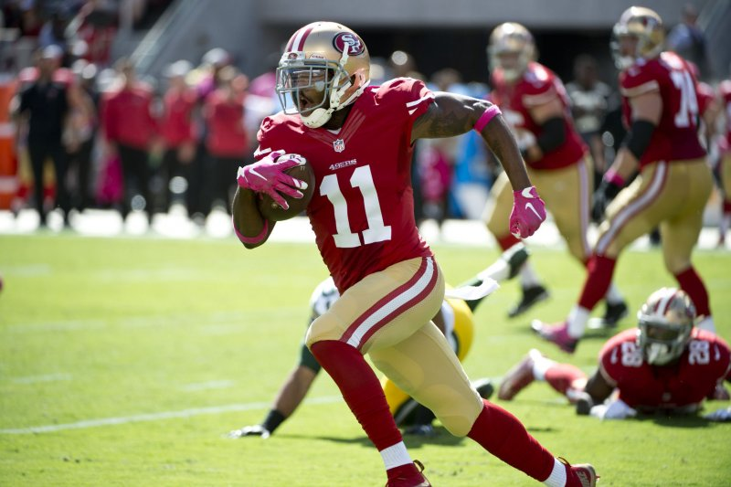 Jerseys NFL Cheap - San Francisco 49ers have logjam of WR's vying for roster spots ...