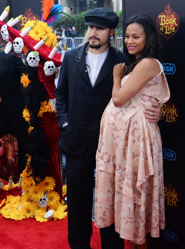 Zoe saldana reveals the names of her twin sons for The book of life characters names