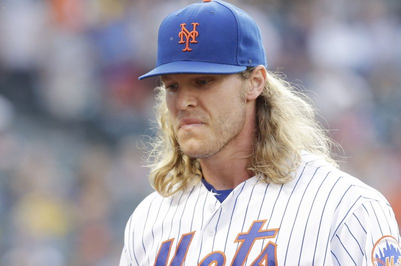 Mets ace Syndergaard scratched because of strep throat