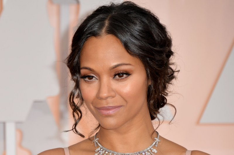 Zoe Saldana stuns in first Zoe Saldana