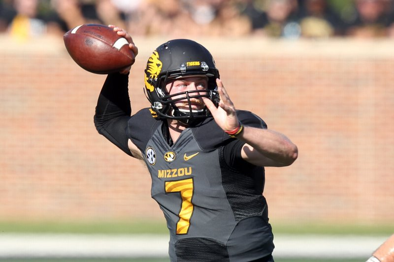 Missouri qb maty mauk suspended teammates claim video is old upi