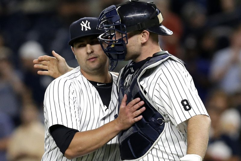 New York Yankees trade Nick Goody to Cleveland Indians