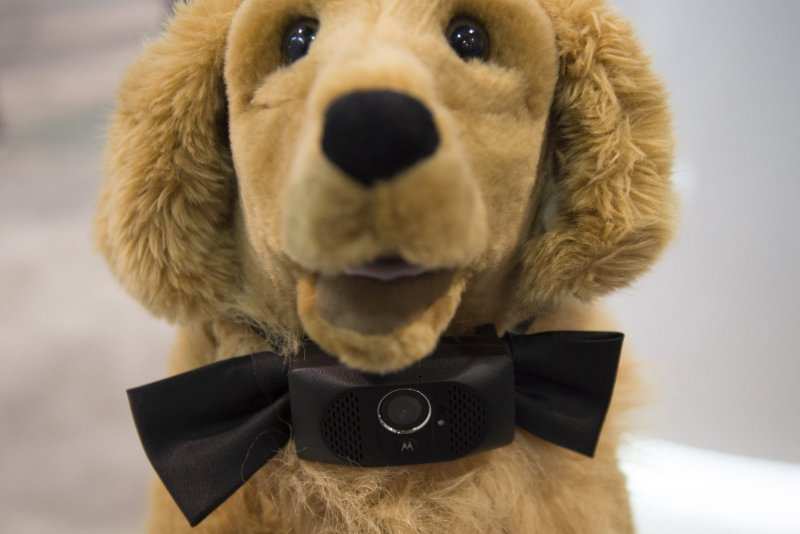 Bow-WOW! 'Smart collar' for dogs beams video to owners' phones