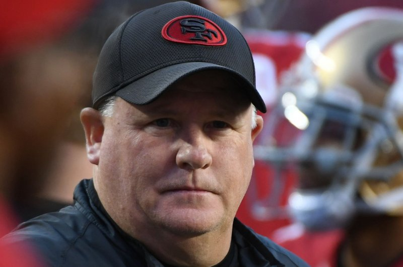 San Francisco 49ers coach Chip Kelly says he's going nowhere