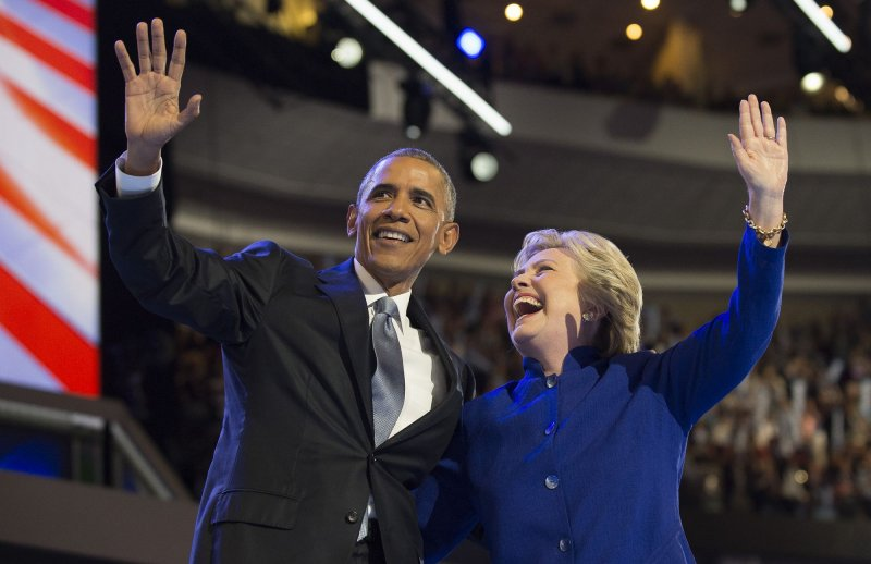 obama-Clinton most popular 2016
