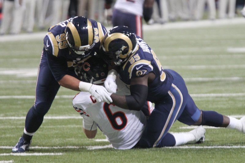 NFL Jerseys Nike - Aaron Donald says Los Angeles Rams d-line can be best ever - UPI.com