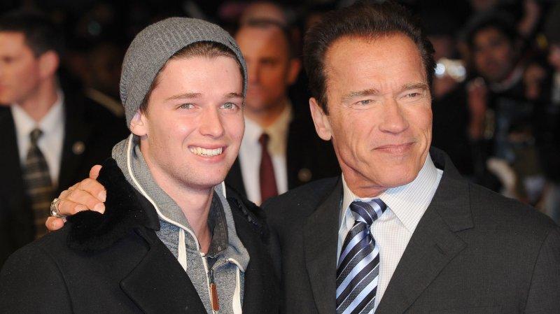 Patrick Schwarzenegger Schwarzenegger Son Patrick