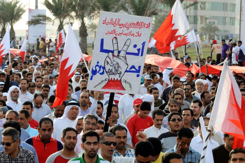 Bahrain executes via firing squad three men accused of bombing