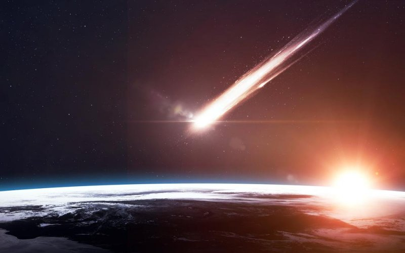 Meteor explodes off Brazil coast