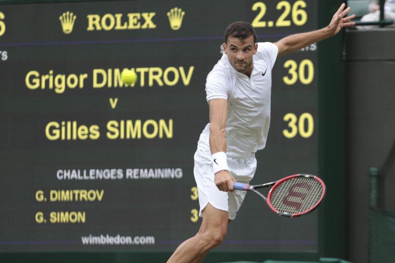 Grigor Dimitrov claims Brisbane title