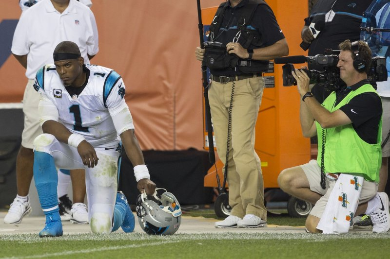 Cam Newton, 3 other Panthers' starters out vs. Buccaneers
