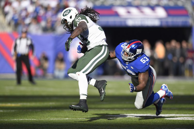 Jerseys NFL Online - Jasper Brinkley stays with New York Giants - UPI.com