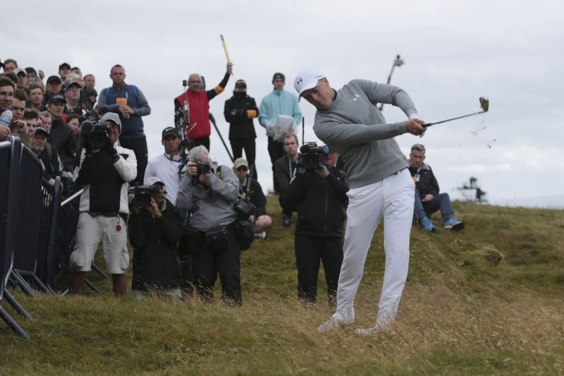 Spieth struggles as Royal Troon weather shows its teeth