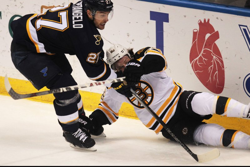 Boston Bruins Led To Victory By Hayes And Rask