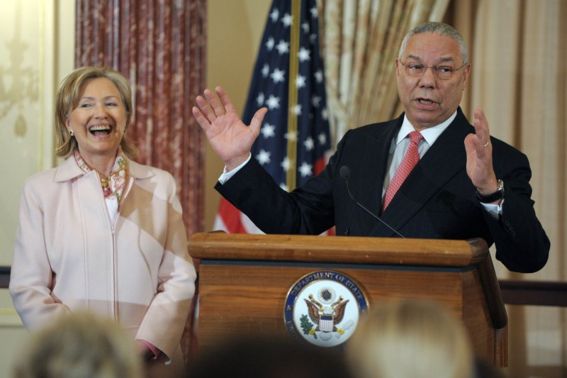 Former Secretary of State Colin Powell to vote for Hillary Clinton
