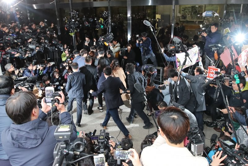 Voice shaking, South Korean president says 'heartbreaking' scandal 'all my fault'