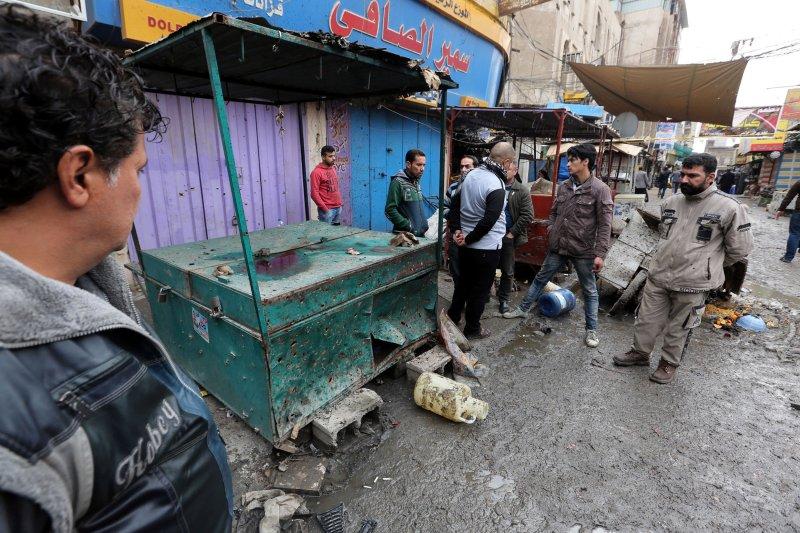 28 killed in Baghdad double bombings