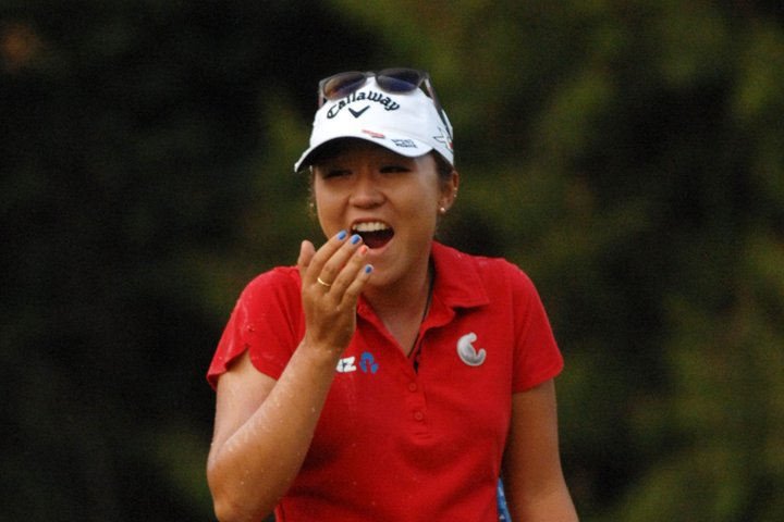 Lydia Ko back in the hunt in California