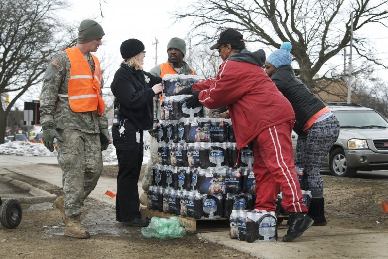 Flint water piipelines object of activist suit
