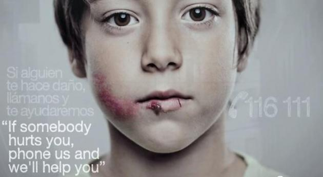 child abuse ad made only for children debuts in spain