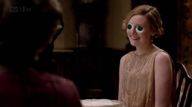 Downton Abbey Fans Edith With Googly Eyes Is Your New