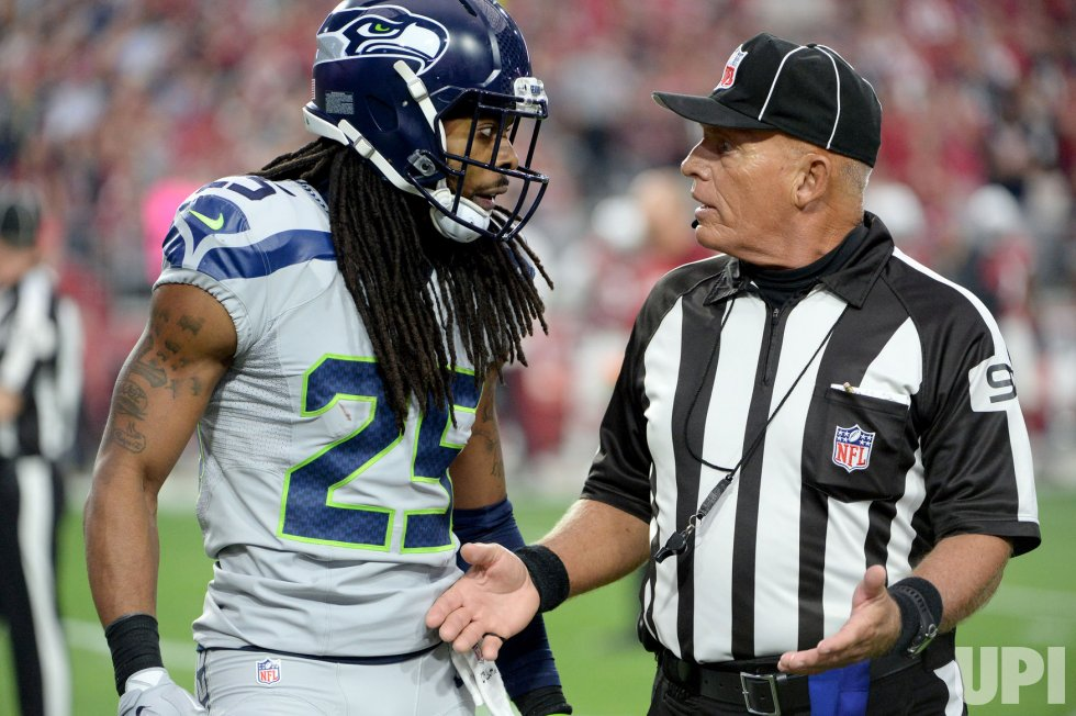 Seattle Seahawks doesn't like the call