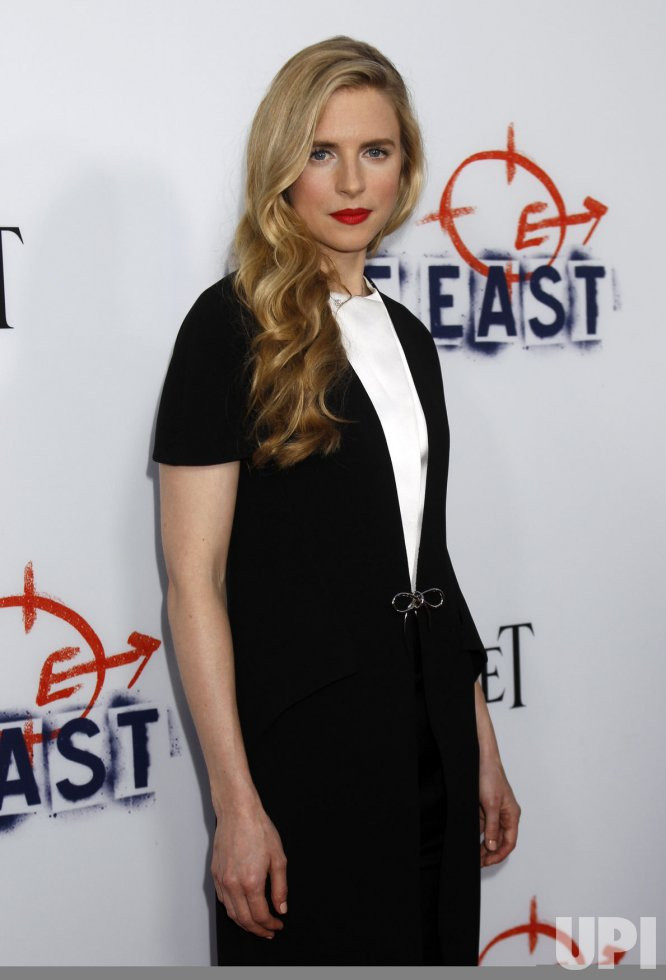 Brit Marling attends
